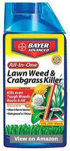 Bayer Advanced Lawn Weed and Crabgrass Killer