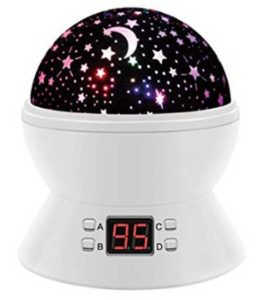 Trongnro Usb Rotating Led Star Sky Projector Lamp