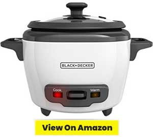 BLACK DECKER 3 Cup Cooked