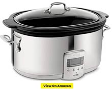 All Clad Programmable Oval Shaped Slow Cooker