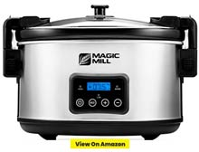 Magic Mill 8.5 Quart Slow Cooker
