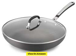 Simply Calphalon 12 Inch Nonstick Omelette Fry Pan