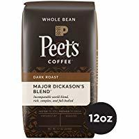 Peet's Coffee Major Dickason's Blend Dark Roast Whole Bean