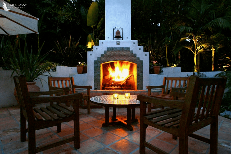 Indoor or Outdoor Gas Fire Pit